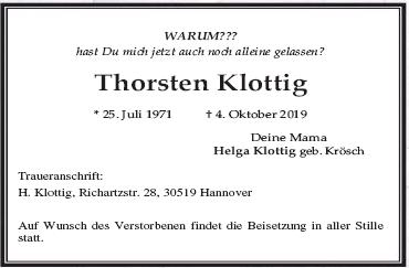 Thorsten Klottig